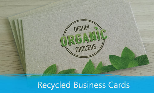 Recycled Business Cards Print Depot