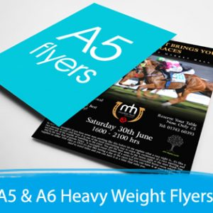 Flyer printing melbourne sydney leaflet printing print depot a5 a6 heavy weight flyers reheart Images