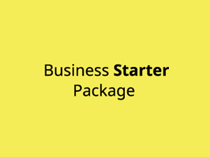 Businessstarterprintpackages