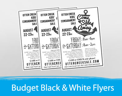 black-and-white-flyers