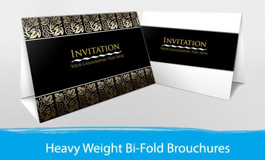 Premium Bi-Fold Brochures