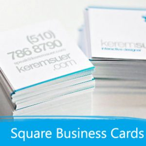 Business Cards - Square