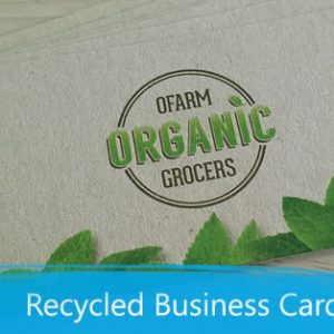Recycled business cards print depot recycled business cards reheart Gallery